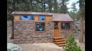 impressive 204 sqft stone cottage by simblissity tiny homes youtube
