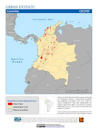 Map Of Colombia Map Gallery Sedac