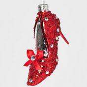hallmark ruby slippers 2005 ornament wizard of oz club edition