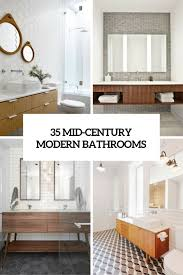 Midcentury Modern Bathroom 35 Trendy Mid Century Modern Bathrooms To Get Inspired Digsdigs