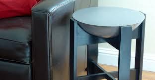 Concrete Side Table Concrete Side Table By Dale Martin Cheng Concrete Exchange