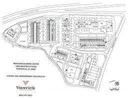 Greenville Sc Map Map Of Center Merovan Business Center