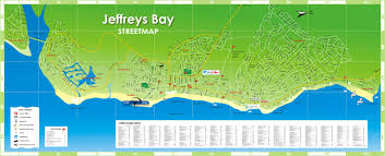 Port Elizabeth South Africa Map by Jeffreys Bay Map Jeffreys Bay Eastern Cape South Africa U2022 Mappery