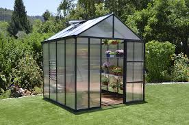 Palram Lean To Greenhouse Poly Tex Glory 8x8 Greenhouse Nw Quality Greenhouses