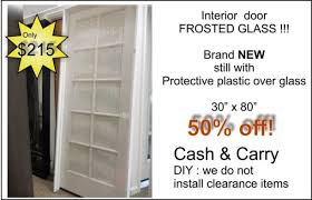 Interior Door Frosted Glass by Clearance And Discontinued Items The Glass Door Store