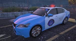 lexus gs 350 quality thai police lexus gs 350 2 liveries gta5 mods com