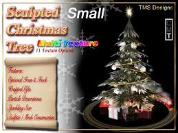 Small Decorated Christmas Trees For Delivery by Second Life Marketplace Small Decorated Christmas Tree With