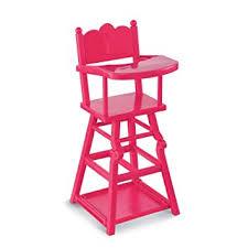 corolle cmw93 mobilier de poupée chaise haute cerise pour