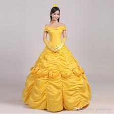 oisk custom beauty and beast belle princess dress for christmas