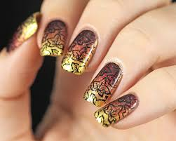 73 best autumn nail art uñas para otoño images on pinterest