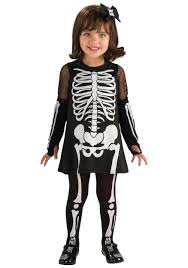 Toddler Halloween Shirt by Toddler Skeleton Dress