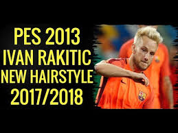 pes 2013 hairstyle pes 2013 ivan rakitic new face hairstyle 2018 minosta4u