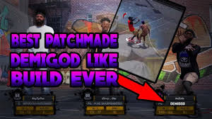 88 best build a better nba 2k18 best build demigod like you wont miss with him