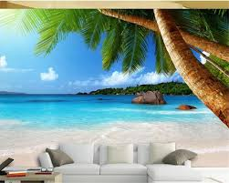 online get cheap beach wallpaper murals aliexpress com alibaba beibehang mosaic hd seaside coconut beach tv background wallpaper mural papel de parede 3d papier peint wallpaper for walls 3 d
