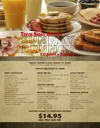 sandia casino on stop by our amazing sunday brunch