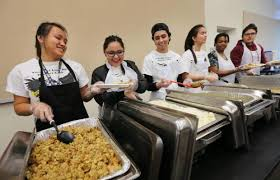 the salvation army hosts thanksgiving day meals press enterprise