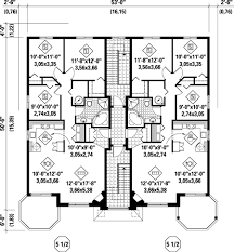multifamily house plans multi family plan 52764 at familyhomeplans com