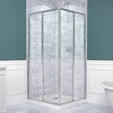Shower Door Magnetic Strips by Dreamline Cornerview 34 1 2 In D X 34 1 2 In W Framed Sliding