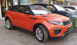 evoque land rover convertible file land rover range rover evoque convertible 01 china 2017 03 21