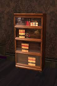 Lawyers Bookcase Second Life Marketplace Mnm 1 One Prim Victorian Bookcase