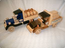Homemade Wooden Toy Trucks by Making Wood Yard Art Plans Diy Free Download Make Glue Gun