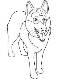 dogue allemand coloriage de chien bouledogue dessincoloriage
