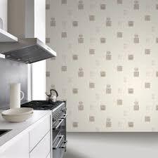 restaurant kitchen wallpaper interior design rasch tile pattern cafe restaurant kitchen vinyl wallpaper