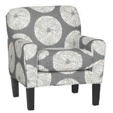 Grey Accent Chair Favorable Grey And White Accent Chair About Remodel Interior