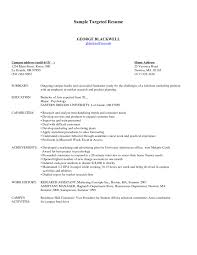 Sample Student Affairs Resume by 100 Targeted Resume Sample Doc Informatica Administration