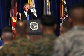 What Are The Two Flags In The Oval Office Trump To Expand Military Operations In Afghanistan National News