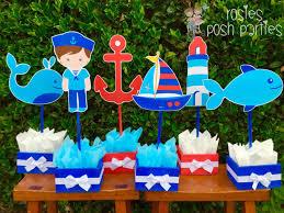 nautical boy baby shower nautical birthday centerpieces for