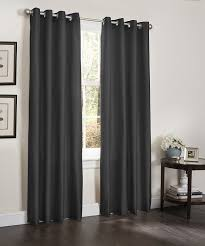 amazon com 2 blackout window curtain panels foam back lined