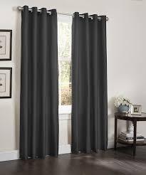Grey Faux Suede Curtains Amazon Com 2 Blackout Window Curtain Panels Foam Back Lined