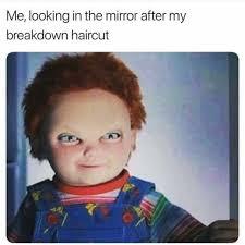 Bowl Haircut Meme - dopl3r com memes me looking in the mirror after my breakdown
