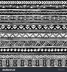 black and white tribal navajo seamless pattern aztec geometric
