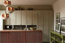 how to match kitchen cabinets with wall color painted kitchen cabinet ideas architectural digest