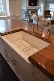 Kitchen Sinks With Backsplash Ash Wood Chestnut Prestige Door Kitchen Islands With Sink