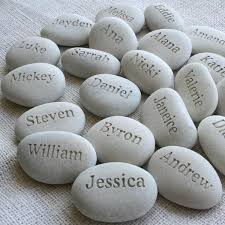 gifts engraved sj engraving pebbleglyph personalized engraved stones uncommon