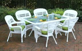 Wicker Resin Patio Chairs Plastic Wicker Furniture Entspannung Me