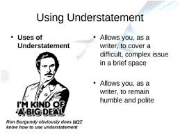 litotes and understatement powerpoint lesson and exercises by