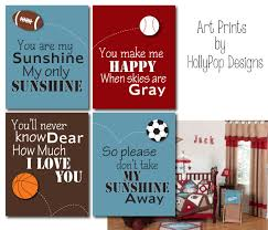 Sports Nursery Wall Decor Sports Nursery Room Decor You Are My Boy