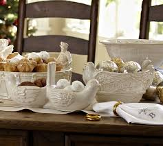 how to set a table with napkin rings five golden rings napkin ring set of 4 pottery barn