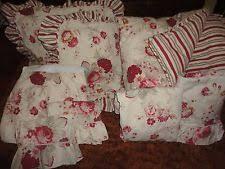 Antique Rose Comforter Set Waverly Bedding Ebay