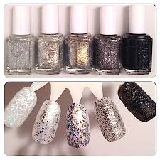 review swatches essie winter encrusted treasures 2013
