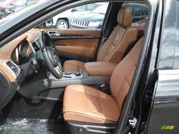 jeep grand cherokee summit interior new saddle black interior 2013 jeep grand cherokee overland summit