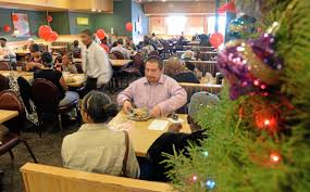 Hometown Buffet Jobs by Los Angeles Lawyer Feeds 500 Homeless At Hometown Buffet In
