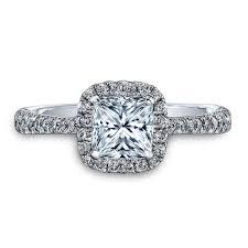 engagement rings diamond 2 50 carat princess cut diamond halo engagement ring diamond