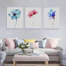 Nordic Home Online Get Cheap Flower Paintin Aliexpress Com Alibaba Group