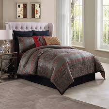 Jacquard Bed Set Genoa Ma Maison 8 Pc Jacquard Comforter Set Jcpenney
