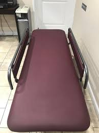 armedica hi lo treatment tables armedica hi lo changing table with side rails
